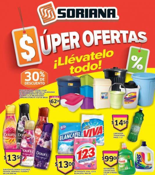 Folleto de ofertas Soriana del 28 al 31 de marzo