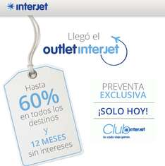 Outlet Interjet enero 14