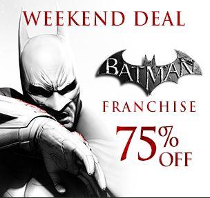 Steam: 75% en juegos de Batman (Arkham Origins US $10 y más)