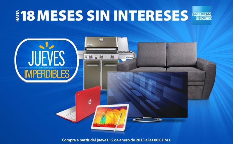Walmart: promociones Jueves Imperdibles en tienda online