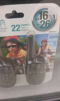 Soriana: Walkie Talkies 26 km de alcanze $440