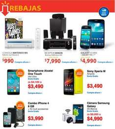Walmart: Wii con Just Dance 4 $990, Galaxy SIII Mini + Galaxy Tab 3 $4,990
