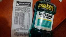 Bodega Aurrera: Enjuague Bucal Listerine 360 ml $19