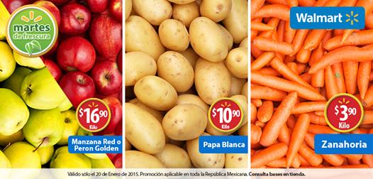 Martes de Frescura en Walmart enero 20: zanahoria $3.90 y más
