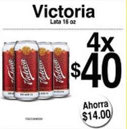 7 Eleven: cerveza Victoria 473ml a $10 comprando 4 ó 6 y más promociones de cervezas