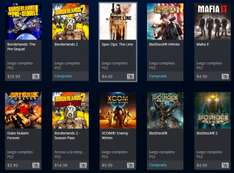 PSN Store: Ofertas 2k y Square Enix (Bioshocks, Borderlands, Tomb Raider, Final Fantasy)