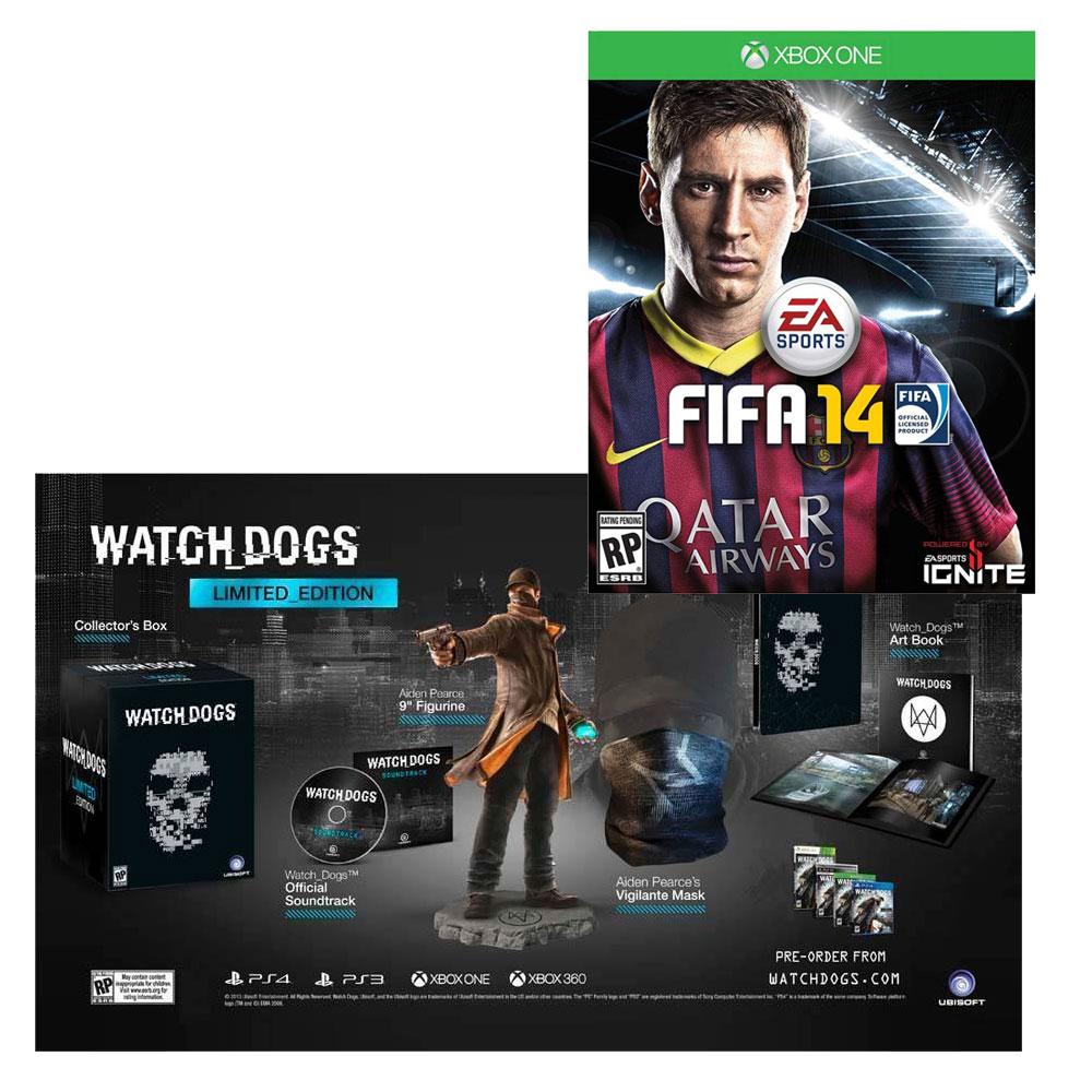 Walmart: Watch Dogs edicion especial más Fifa 14 Xbox one