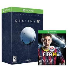 Walmart: Destiny Limited Edition + FIFA 14 para XBOX ONE $1,699