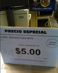 Sam's Club: frape mango chamoy $5 (regular $24)