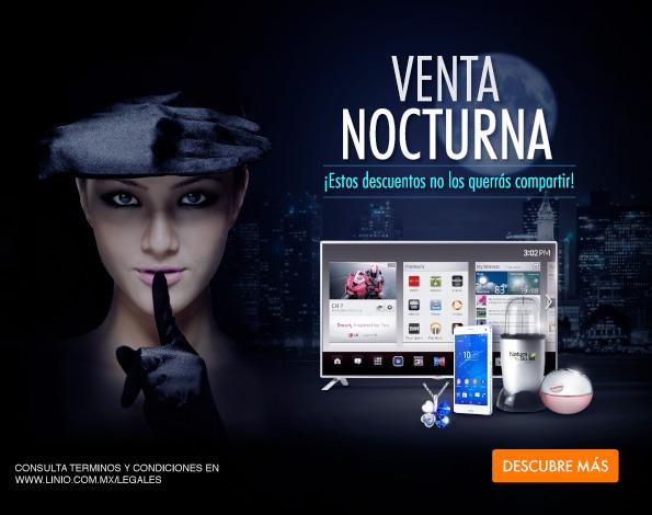 Linio: venta nocturna y descuento adicional de hasta 30% en liquidación