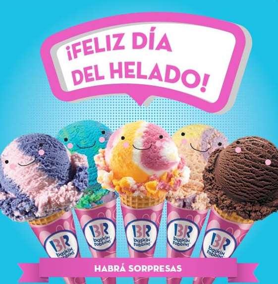 Día del helado Baskin Robbins marzo 24 (DF, Edo de México y Cancún)