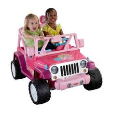 Walmart: Barbie Jeep Power Wheels Mattel $1,995