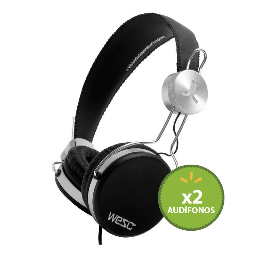 Walmart: 2 audífonos WESC Banjar $790