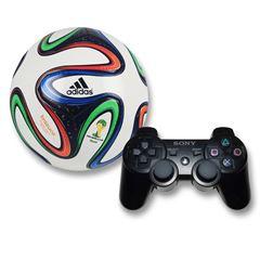 Sanborns: Bundle Dual shock 3 World Cup 14 (envio gratis)