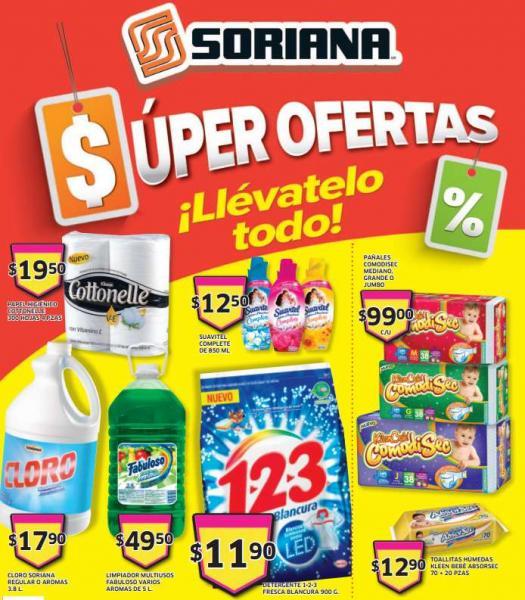 Folleto de ofertas Soriana del 21 al 24 de marzo