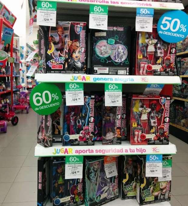 Liquidación de juguetes y venta insólita Mattel en Juguetron