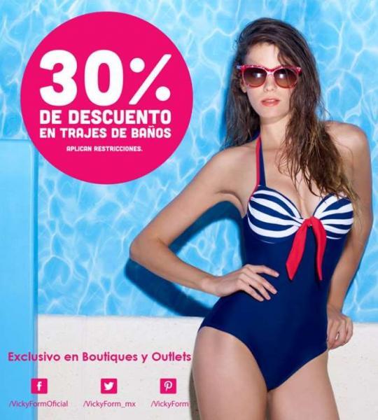 Vicky Form: 30% de descuento en trajes de baño