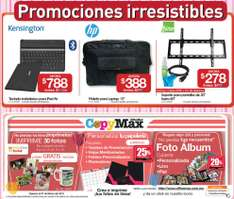 Folleto de ofertas en OfficeMax febrero