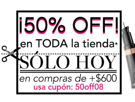 e.l.f cosméticos: 50% de descuento en toda la tienda online