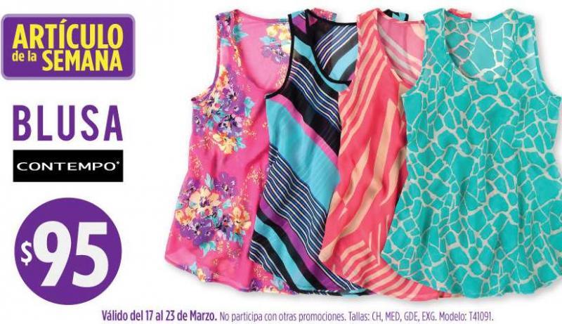 Artículo de la semana en Suburbia: blusa sin mangas $95