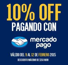 10% Descuento Extra pagando con MercadoPago en Blockbuster y otras tiendas (Max $150)