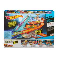 Walmart: pista Hot Wheels Metropoli $499