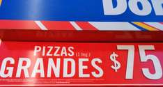 Domino's Pizza: pizza grande $75