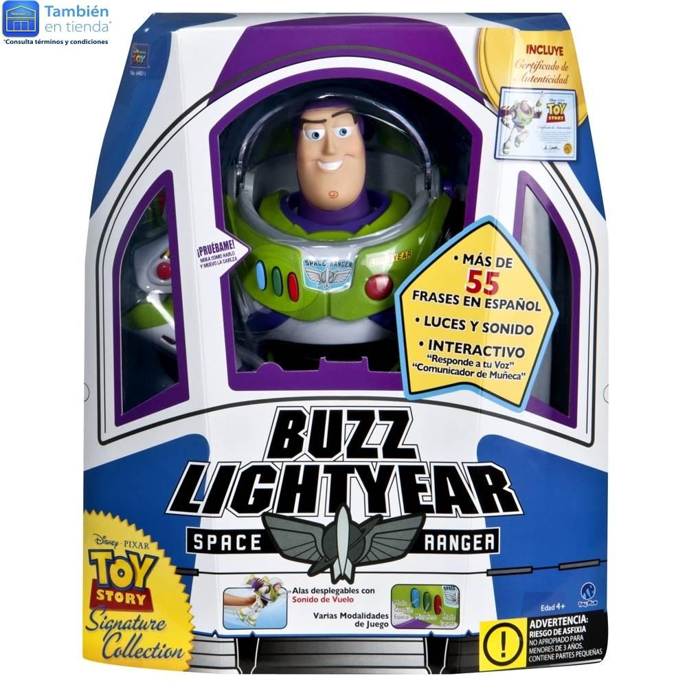 Walmart Tienda Fisica: Buzz Lightyear (con certificado de autenticidad)