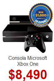 Walmart: Xbox One $5,990 y hasta 18 meses sin intereses