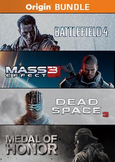 Origin: BF4, Mass Effect 3, Dead Space 3 y MOH, todo por 387 pesos.