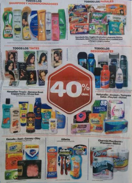 Farmacias Benavides: 40% de descuento en todos los pañales, shampoos, desodorantes, tintes y +