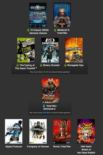Humble Weekly Sale: juegos de SEGA para PC desde $1 dólar
