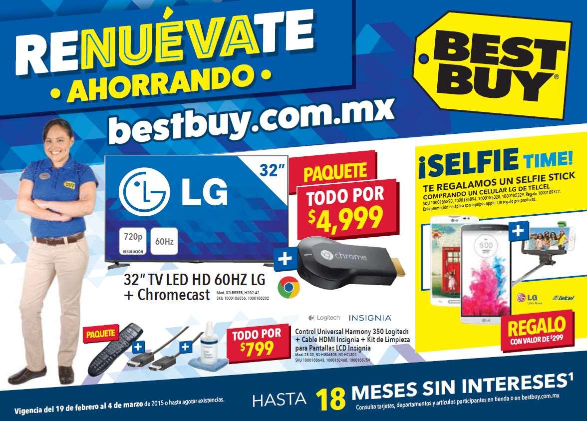 Folleto de ofertas en Best Buy del 19 de febrero al 4 de marzo