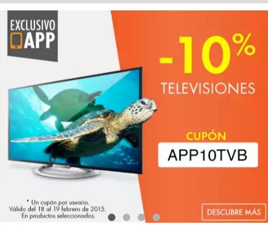 Linio: 10% de descuento en televisiónes desde APP
