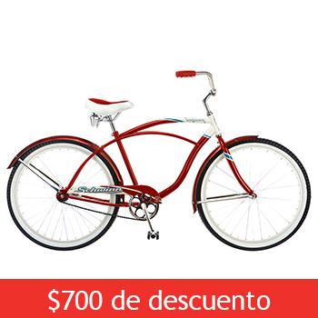 "Costco: Bicicleta schwinn legacy 26"" $2,299"