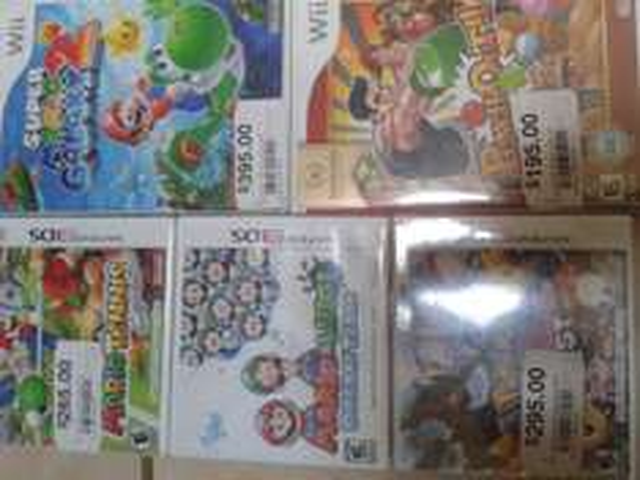 Chedraui: ofertas en videojuegos (ejemplo juegos de Nintendo 3DS $295 o menos)