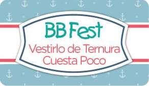 Suburbia BB Fest: ofertas en ropa de bebés