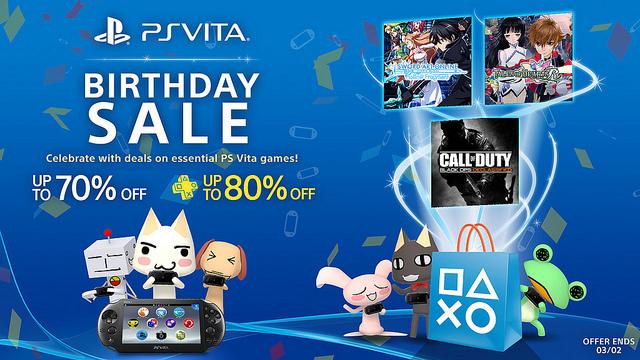 PlayStation Store: ofertas de cumpleaños PS Vita