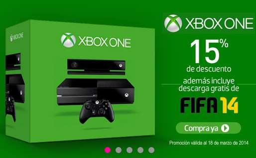 Liverpool: Xbox One con FIFA 14 $7,437