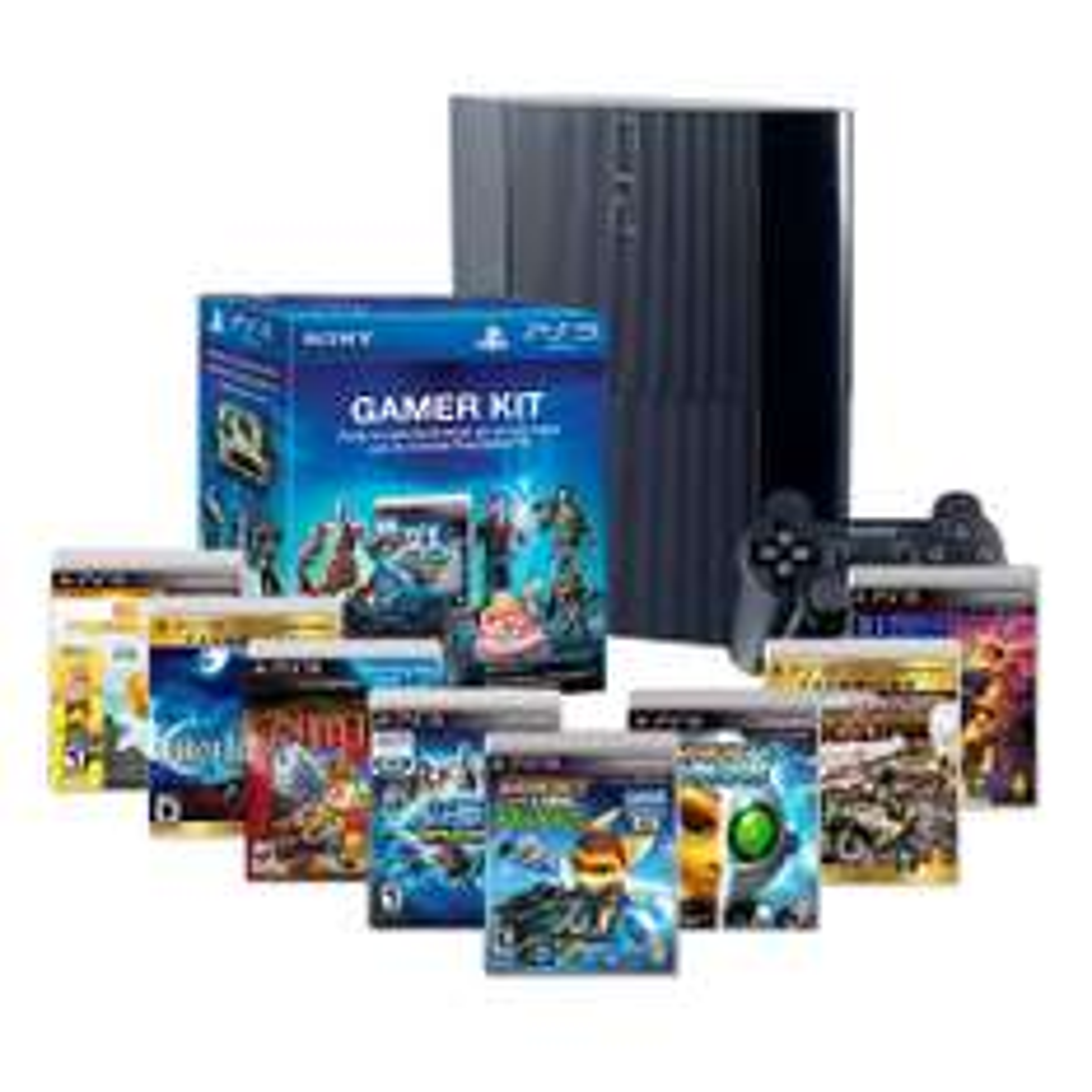 Walmart - CONSOLA PS3 500G MAS 8 VIDEOJUEGOS MÁS GAMER KIT