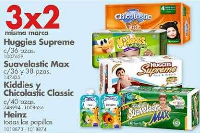 Farmacias Benavides: 3x2 en pañales, shampoos, desodorantes y pastas de dientes seleccionadas