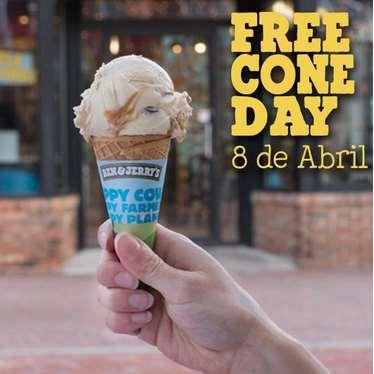 Ben & Jerry's: día del cono gratis el 8 de abril