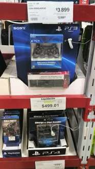 Sam's Club: Control de PS3 y control multimedia $499