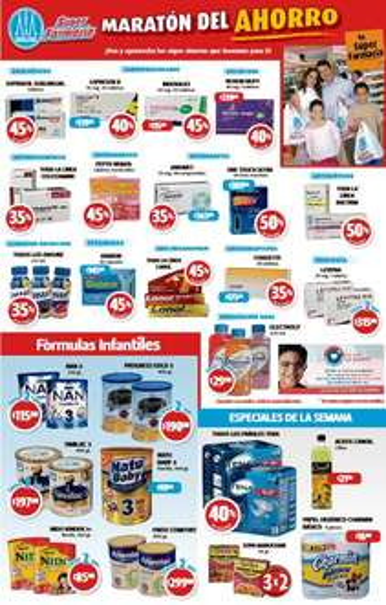 Farmacias Guadalajara: 3x2 en sopas Maruchan y 45% de descuento en Pepto Bismol