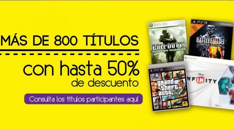 Blockbuster: hasta 50% en videojuegos seleccionados