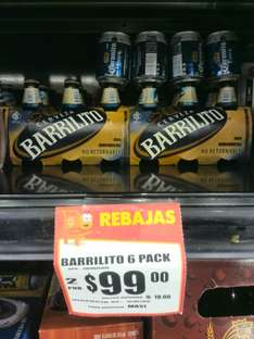 Walmart: 2 six barrilitos por $99