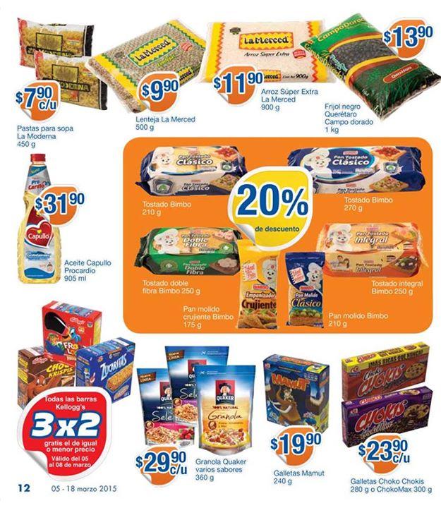Folleto de ofertas en Chedraui del 5 al 18 de marzo