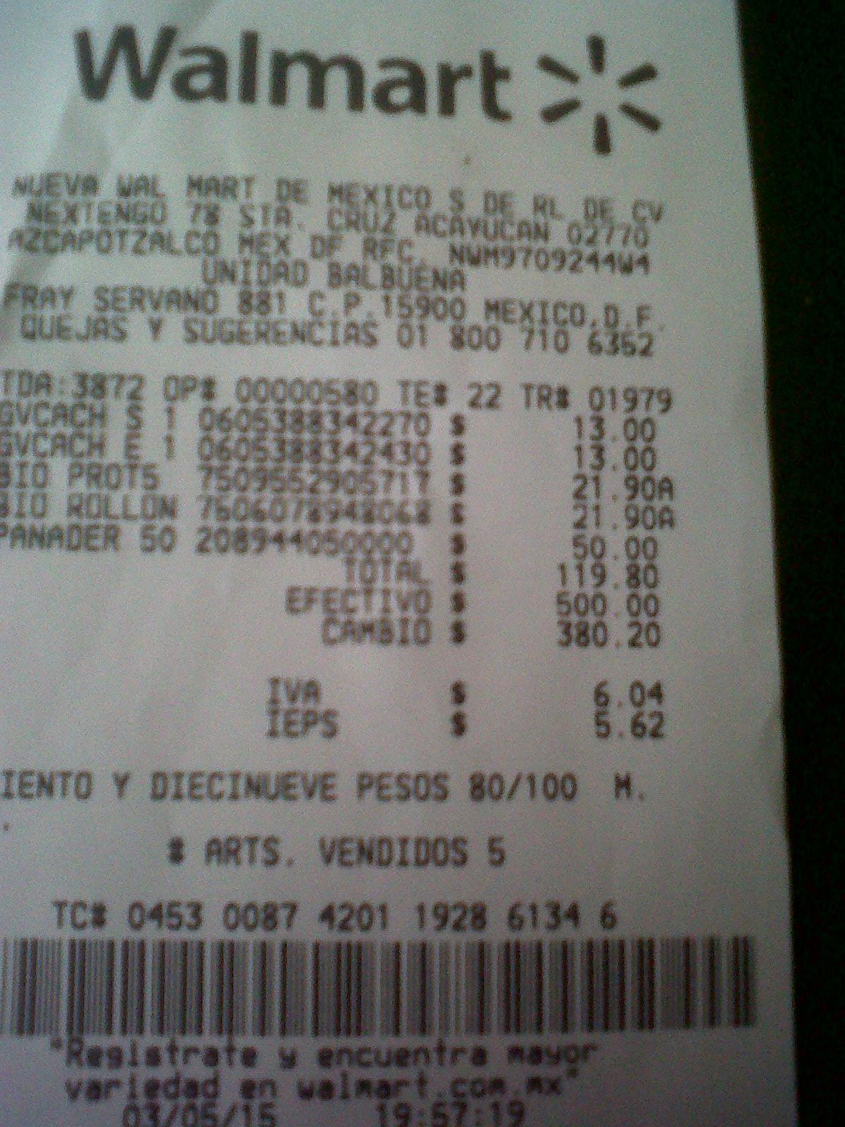 Walmart: Desodorante Femenino Bi-O Garnier $21.90