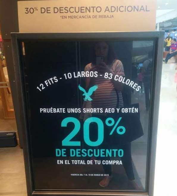 American Eagle: 20% de descuento en toda tu compra por probarte sus shorts