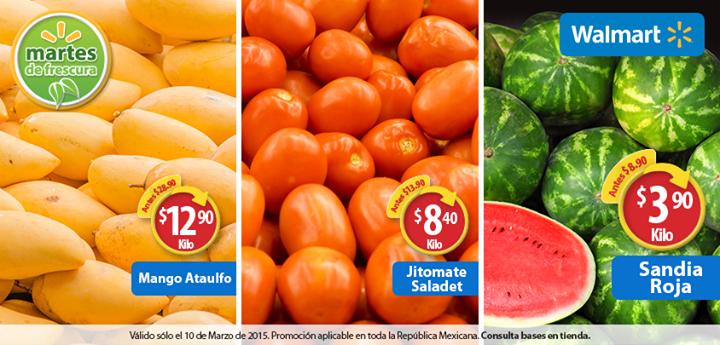 Martes de frescura en Walmart marzo 10: sandía $3.90 el kilo y más